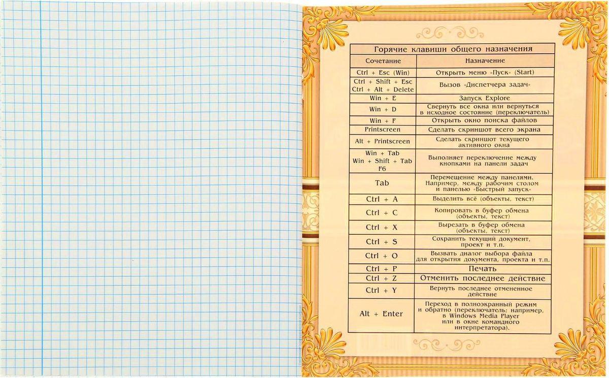 Эта стильная предметная тетрадь способна вдохновить и настроить на успехи в учебе. Вы по достоинству оцените ее красивый дизайн, высокое качество и наличие справочных материалов.Внутренний блок тетради, соединенный двумя металлическими скрепками, состоит из 48 листов белой бумаги.Стандартная линовка в голубую клетку дополнена полями.Пусть процесс обучения станет приятным и интересным!