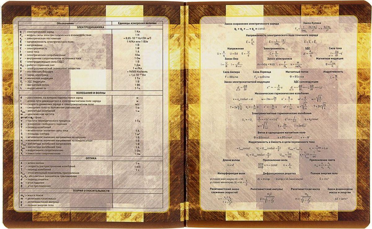 Предметная тетрадь ПЗБФ Золотая лихорадка-2: Физика станет идеальным вариантом для учебы.Обложка выполнена из металлизированного картона. Внутренний блок тетради состоит из 48 листов белой бумаги. Стандартная линовка в клетку дополнена полями. Тетрадь содержит полезную справочную информацию по предмету.