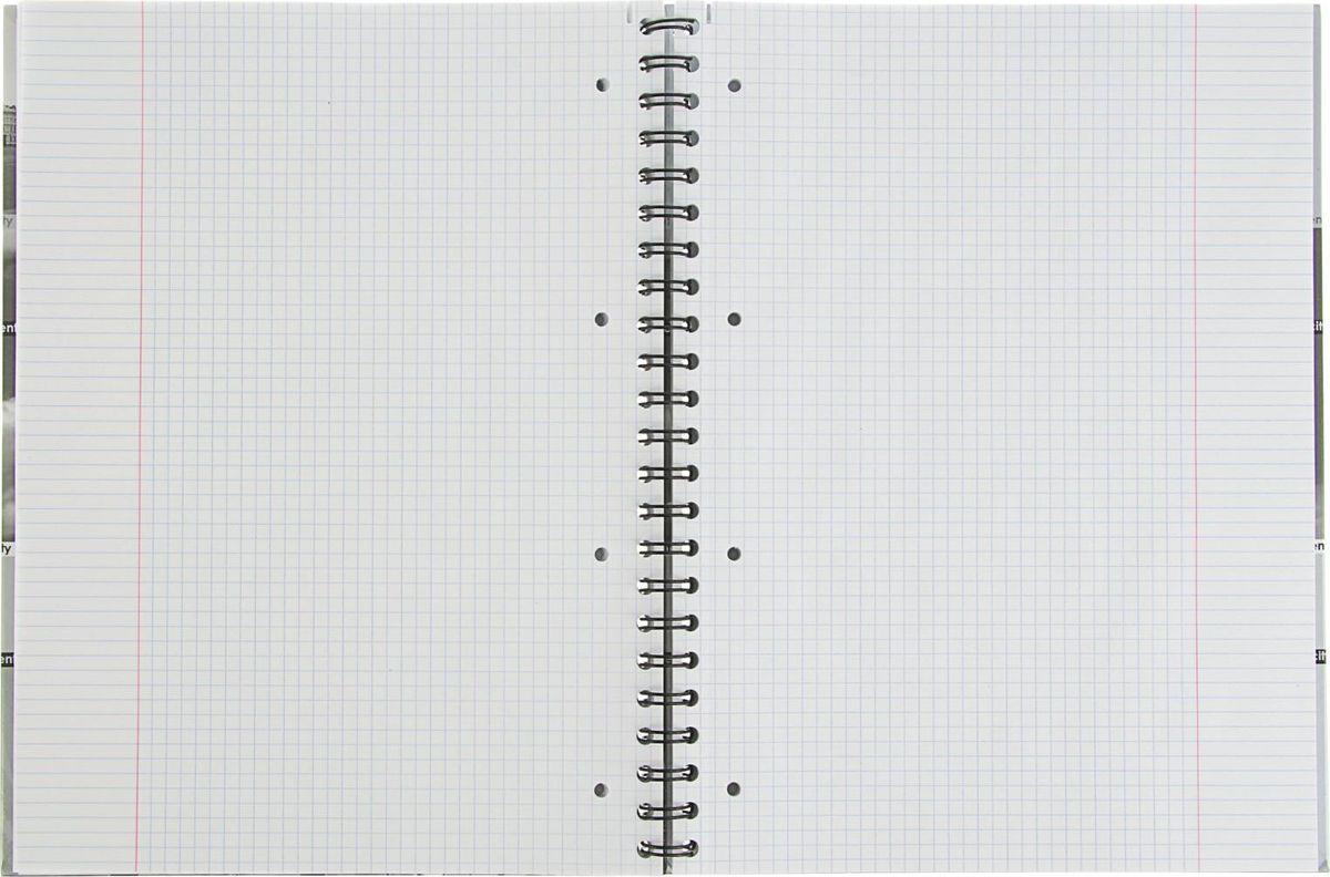 Общая тетрадь Erich Krause City Moments на металлическом гребне пригодится как школьнику, так и студенту. Такое практичное и надежное крепление позволяет отрывать листы и полностьюоткрывать тетрадь на столе.Внутренний блок выполнен из белой бумаги в стандартную клетку с полями. Тетрадь содержит 120 листов формата А4.
