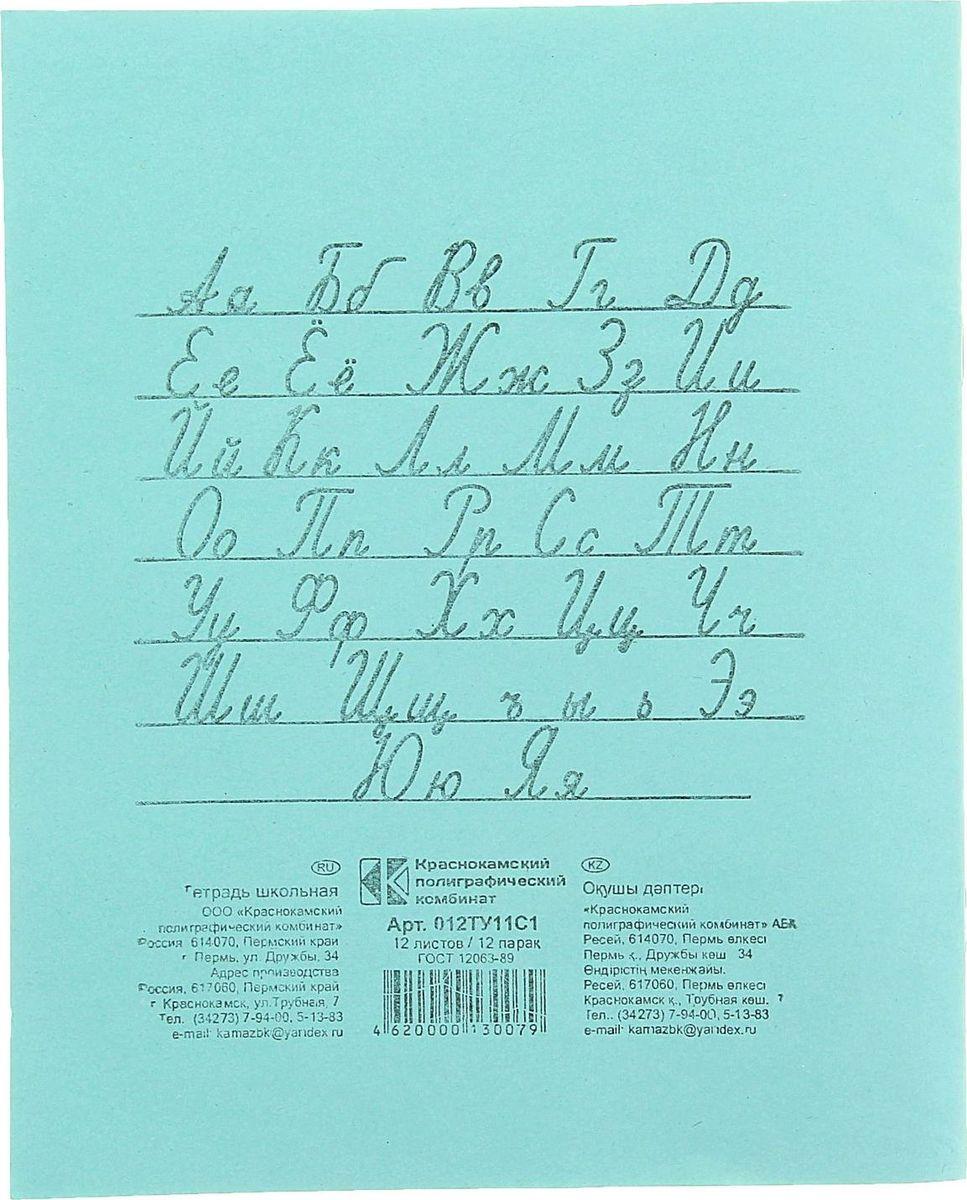 Тетрадь КПК идеально подойдет для занятий любому школьнику.Обложка, выполненная из бумаги зеленого цвета, сохранит тетрадь в аккуратном состоянии на протяжении всего времени использования. Внутренний блок состоит из 12 листов белой бумаги в голубую линейку с полями. На задней обложке тетради представлены прописные буквы русского алфавита.Изделие отличается качеством внутреннего блока, который полностью соответствует нормам и необходимым параметрам для школьной продукции.Пусть ваш ребенок получает только хорошие оценки в любимых тетрадях с зеленой обложкой!Плотность: 58-63 г/м2.Белизна: 90%.