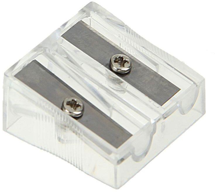 Двойная точилка Calligrata выполнена из прозрачного пластика.Оснащена двумя отверстиями разных диаметров.Высококачественное металлическое лезвие обеспечивает аккуратную и острую заточку.