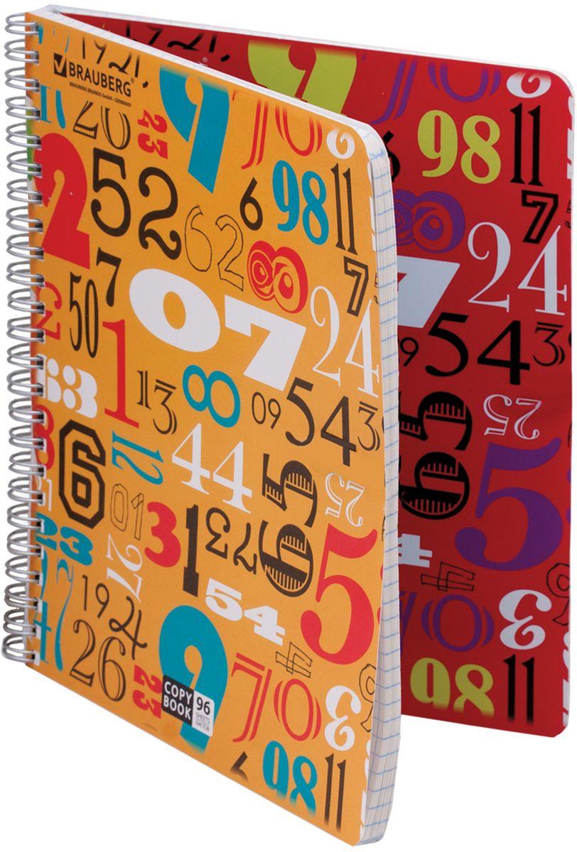 Двойная тетрадь Brauberg Numeric с четырьмя обложками подойдет как школьнику, так и студенту. Обложка тетради с закругленными углами выполнена из плотного картона, что позволит сохранить ее в аккуратном состоянии на протяжении всего времени использования.Внутренний блок тетради, соединенный металлическим гребнем, состоит из 96 листов белой бумаги. Стандартная линовка в клетку без полей.