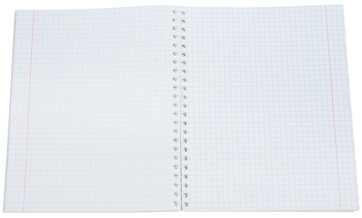 Тетрадь Бриз Замки на металлическом гребне пригодится как школьнику, так и студенту.Такое практичное и надежное крепление позволяет отрывать листы и полностью открывать тетрадь на столе. Обложка изготовлена из картона. Внутренний блок выполнен из белой бумаги в стандартную клетку с полями. Тетрадь содержит 80 листов.