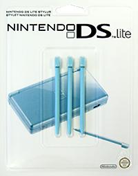 Стилус для Nintendo DS Lite бирюзового цвета (комплект из 3 шт.)1811466Комплект из трех оригинальных стилусов для Nintendo DS Lite.
