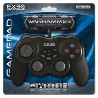 Геймпад EXEQ WarHammer (PS1/2)BU-R51748Геймпад EXEQ WarHammer.Современный, удобный и очень надежный геймпад для консоли Playstation 1 и 2. Отличная альтернатива стандартному джойстику PS при равной цене.