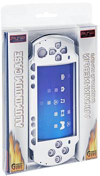 Защитный алюминиевый корпус Game Guru Luxe для Sony PSP Slim & Lite (цвет: серебряный)PSP2000-Y027Защитный алюминиевый корпус защитит вашу PSP от царапин, трещин и сколов как во время работы, так и при перевозке.