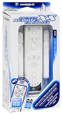 Пульт Premium Remote XS Controller для платформы Nintendo Wii (белый) surprise wireless gamepad for wii remote controller for nintendo for wii for w ii u 5 colors for choice