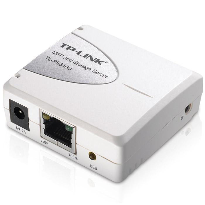 TP-Link TL-PS310UTL-PS310UПринт-сервер для МФУ с функцией хранения данных Tp-Link TL-PS310U идеален для организации совместного доступа к USB-устройствам домашней или рабочей сети. Устройство совместимо с большинством принтеров и многофункциональных принтеров, представленных на рынке, и позволяет совместно использовать и управлять этими устройствами с подключенных к сети компьютеров. К устройству также можно подключать и работать с 4 устройствами на базе USB, такими как сканеры, карты флэш-памяти, колонки или веб-камеры с помощью USB дока, подключенного к серверу. Эти устройства будут доступны из любой точки сети и даже по беспроводному соединению, если принт-сервер подключить к беспроводному маршрутизатору.Высокая совместимостьПринт-сервер совместим с большинством многофункциональных принтеров и других USB-устройств, представленных на рынке. Устройство тестировалось с более чем 200 моделями принтеров, принт-сервер отличается первоклассной совместимостью с другими устройствами. Модель TL-PS310U – это идеальный выбор для Вашего дома или офиса.Легкая настройка и высокая эффективностьПолностью новый интуитивно-понятный интерфейс позволяет с легкостью пользоваться принт-сервером. С помощью интерфейса Вы сможете легко управлять и настраивать принт-сервер TL-PS310U, даже если Вы начинающий пользователь.Просто включите питание устройства. С помощью функции автоподключения Вы сможете открыть утилиту и выбрать функцию «Подключиться автоматически для печати», и TL-PS310U сделает всю работу за Вас. Он автоматически подключит Ваш принтер и выполнит задания на печать, в то время как у Вас освободится время попить кофе.Поддержка ОС WINDOWS 7Принт-сервер TL-PS310U поддерживает обновление встроенного программного обеспечения и имеет новую утилиту, и также прекрасно работает с ОС Windows 7. С помощью новой утилиты Вы легко сможете управлять принтером и прочими USB-устройствами, и в то же время работать в ОС Windows 7.