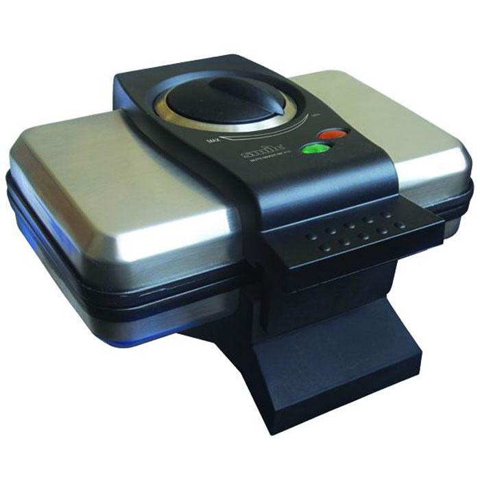 Smile NM 3616 орешницаNM 3616Орешница Smile NM 3616 станет полезным кухонным прибором, позволяющим быстро приготовить вкуснейшие орешки. Мощность орешницы приравнивается к 1000 Вт. С помощью Smile NM 3616 можно одновременно испечь 6 орешков (12 половинок). Антипригарное покрытие облегчает уход за орешницей. Корпус бытового прибора изготовлен из термостойкого пластика и металла. Smile NM 3616 оснащена термостойкими ручками.
