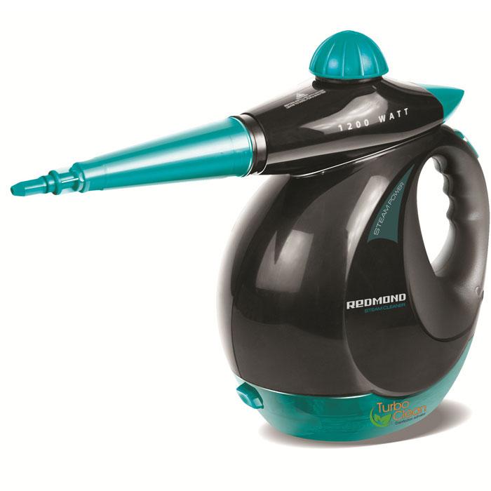 Redmond RSC-2010, Blue пароочистительRSC-2010Он не просто чистит, но еще и дезинфицирует! Пароочиститель Redmond RCS-2010 с легкостью поможет очистить от самых сложных загрязнений стекло, керамику, кафель, ламинат и линолеум, устранить запахи дыма, табака, пищи, жизнедеятельности животных. С помощью дезинфицирующей жидкости Turbo Clean этот замечательный прибор уничтожает до 99,9% микробов. А используя соответствующие насадки и удлинитель, вы без труда очистите мягкую мебель, отмоете окна, отпарите любую мятую ткань или одежду. Парогенератор RCS-2010 — вещь, необходимая в каждом доме!