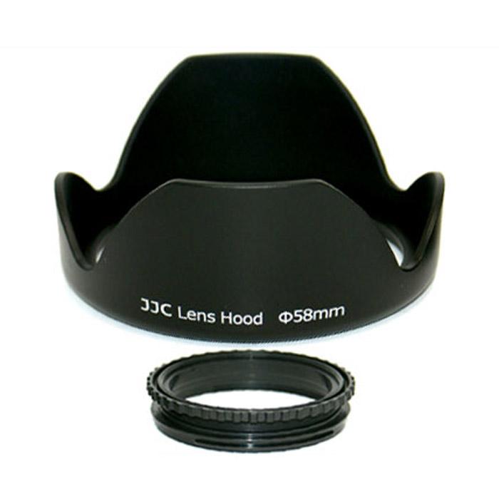 JJC бленда LS-58 58mmJJCLS58JJC LS-58 бленда предназначена для использования со встроенными или сменными зеркальными зум-объективами.