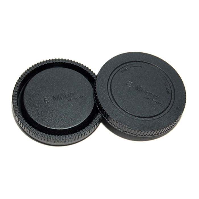JJC крышка для объектива задняя + крышка байонета для фотокамер Sony NEXJJCLR9JJC крышка для объектива задняя + крышка байонета для фотокамер Sony NEX.