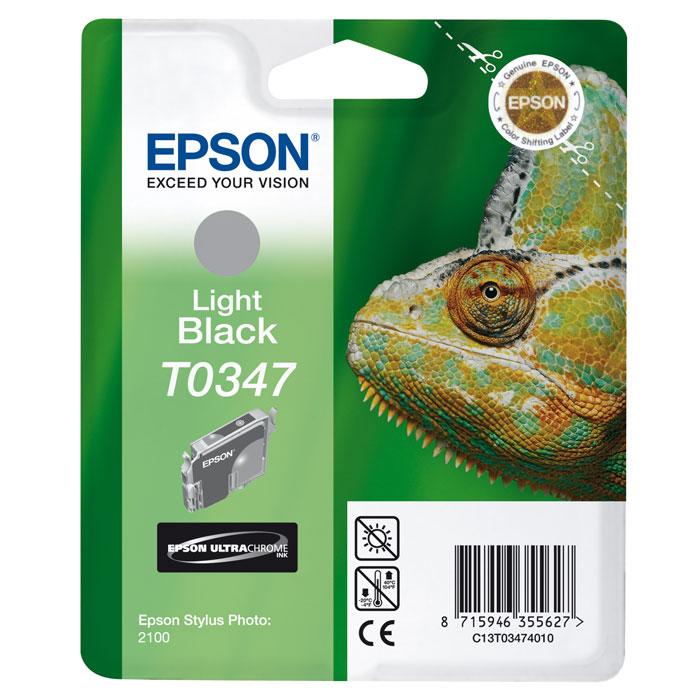 Epson C13T03474010 GreyC13T03474010Картридж Epson с чернилами для струйной печати.