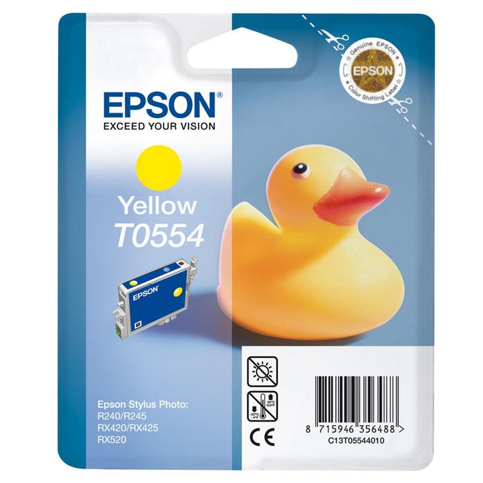 Epson C13T05544010 YellowIC-CCL513Картридж Epson с чернилами для струйной печати.