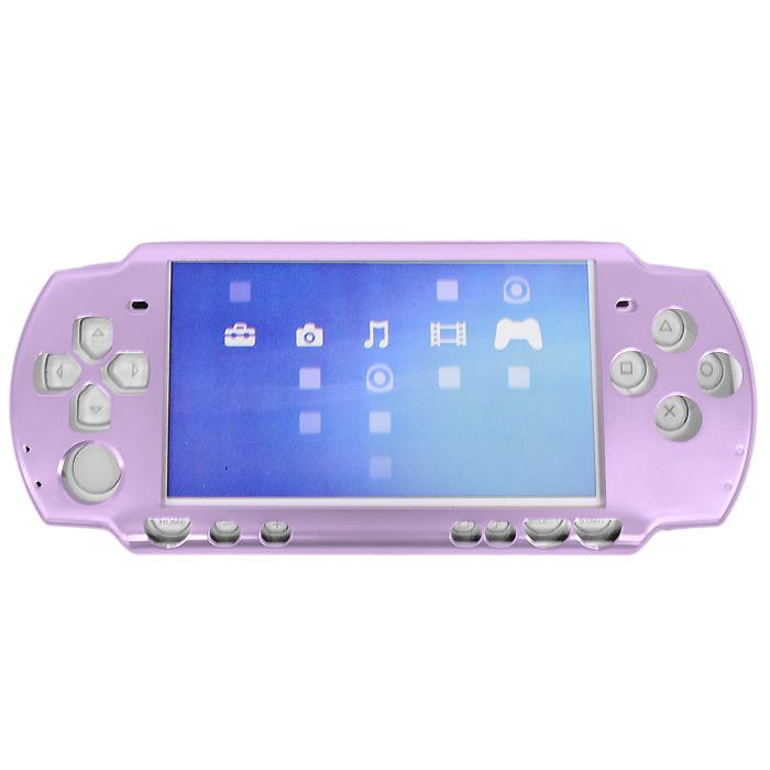 Защитный алюминиевый корпус Game Guru Luxe для Sony PSP Slim & Lite (цвет: сиреневый)PSP2000-Y027Защитный алюминиевый корпус защитит вашу PSP от царапин, трещин и сколов как во время работы, так и при перевозке.