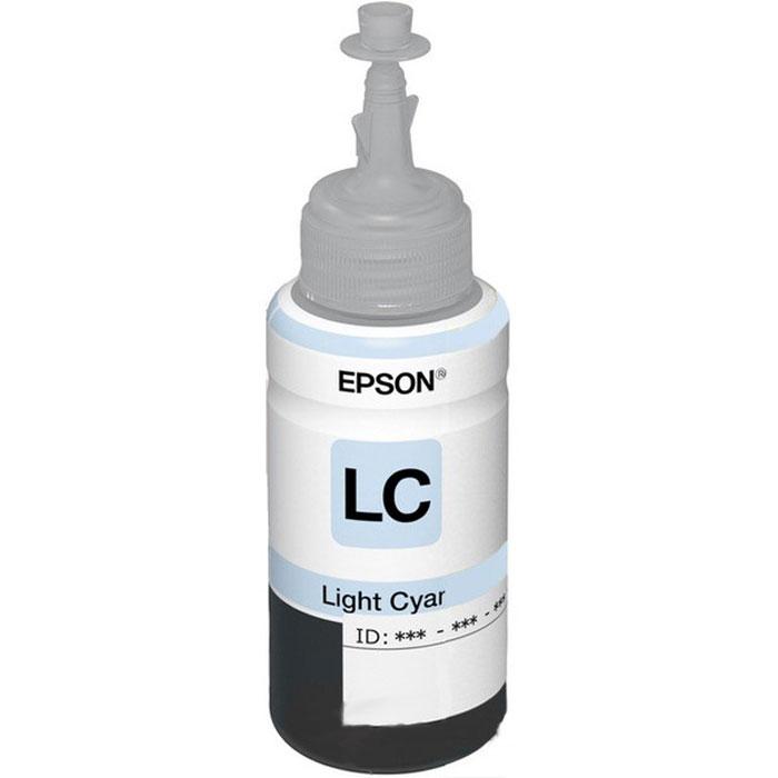 Epson T6735 (C13T67354A), Light Cyan контейнер с чернилами для L800C13T67354A