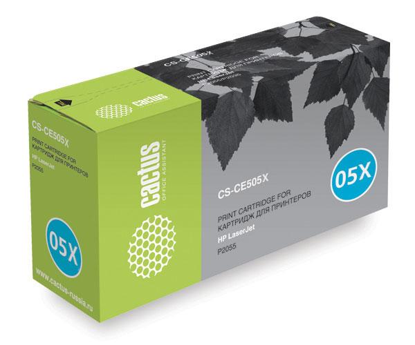 Cactus CS-CE505X black для HPCS-CE505XКартридж CACTUS CS-CE505X для лазерных принтеров HP LaserJet.