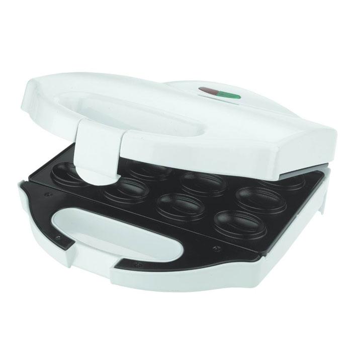 Smile NM 3617 орешницаSmile NM 3617С электроорешницей Smile NM 3617 приготовление лакомства для всей семьи займет совсем немного времени. Замесите тесто, нагрейте прибор и выпекайте. Благодаря индикаторам включения и нагрева, а также антипригарному покрытию процесс выпечки и дальнейшего очищения устройства прост, удобен и безопасен. Орешки можно делать с разными наполнителями (вареной сгущенкой, джемом, заварным кремом). Неприхотливая в использовании электрическая вафельница-орешница Smile NM 3617 станет лучшим помощником на кухне. Порадуйте семью и гостей вкусной домашней выпечкой!