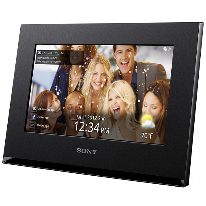 Sony DPF-WA700 WiFi, Black