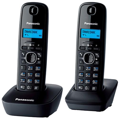 Panasonic KX-TG1612 RUH, GreyKX-TG1612 RUHDECT телефон Panasonic KX-TG1612 с дополнительной трубкой.