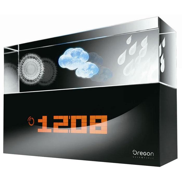 Oregon Scientific BA900 Crystall погодная станцияBA900Погодная станция Oregon Scientific BA900 Crystall. Лаконичный и строгий дизайн, сверху в прозрачном пластике расположены три анимированные иконки, оповещающие о солнечной погоде, грядущей облачности или дожде. Снизу в глубоком и строгом черном глянце светятся часы и прогноз погоды на период от 12 до 24 часов.Анимированный трехмерный прогноз погоды на ближайшие 12-24 часа (солнечно, облачно, осадки)Измерение температуры внутри помещенияРадиоконтролируемые часы (часы, минуты, секунды)Инфракрасный датчик для переключения данных на дисплееДиапазон измерения температуры внутри помещения:от -5 °С до +50 °С (от 23 °F до 122 °F)Температурное разрешение:0,1 °С (0,2 °F)