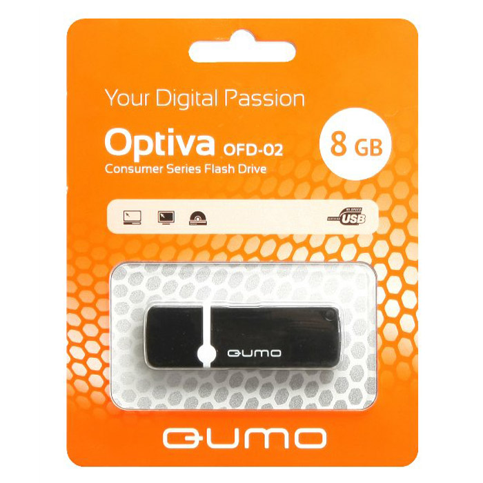 QUMO Optiva 02 8GB, Black