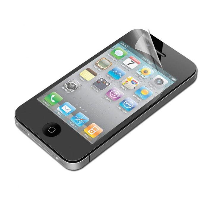 Belkin Matte Screen Overlay, защитная пленка для iPhone 4, 3 packF8Z710cwМатовая пленка Belkin Matte Screen Overlay оберегает экран Вашего iPhone 4, защищает его от царапин и повреждений при повседневном использовании.