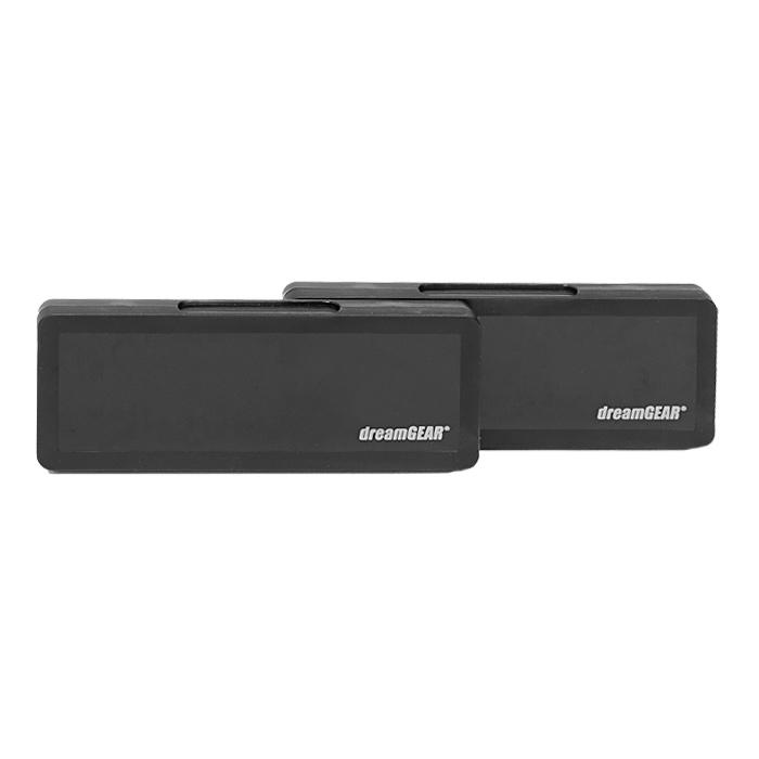 DreamGear DGPSV-3316 набор аксессуаровDGPSV-3316Набор из 4 аксессуаров для PS Vita. Пластиковый чехол вмещает до 8 игр и 2 карт памятиПленка защитит экран Вашего устройства от пыли и царапин