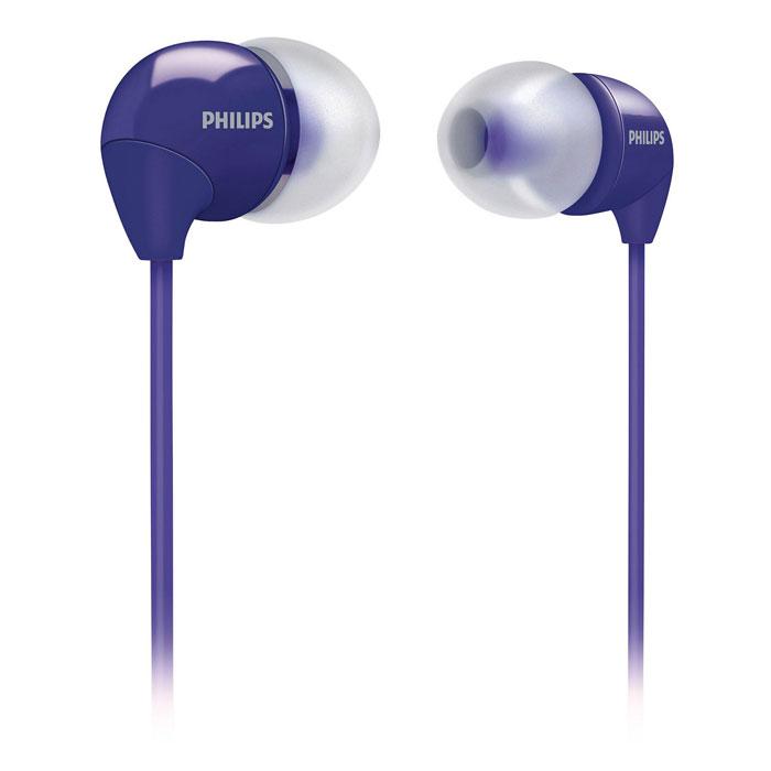 Philips SHE3590PP/10SHE3590PP/10Маленькие громкие динамики наушников-вкладышей Philips SHE3590 обеспечивают плотное прилегание и чистый звук с мощными басами. Идеальны для наслаждения любимой музыкой.В комплект входит 3 резиновых накладки разного размера, и вы гарантированно подберете пару, которая идеально подходит к вашим ушам. Крохотные излучатели обеспечивают плотность прилегания и полностью заполняют ушную раковину, что заглушает внешние источники звука и увеличивает впечатления от прослушивания. Мягкий резиновый сгиб между наушником и кабелем защищает соединение от разрыва при постоянном сгибании и продлевает срок службы.