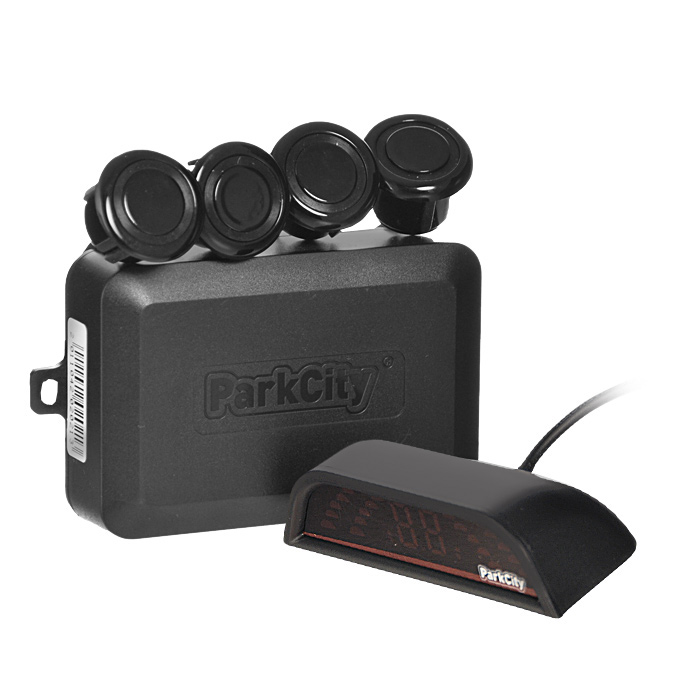 ParkCity Sofia 420/202, Black парковочный радарSofia 420/202 Black (Blister)Парковочный радар на 4 датчика ParkCity Sofia. Модель определяет препятствия и выводит информацию на 4-цветную шкалу. Парковка становится более комфортной и безопасной. Одна из самых популярных моделей, отличается элегантным дизайном шкалы, которая отлично вписывается в интерьер салона автомобиля.