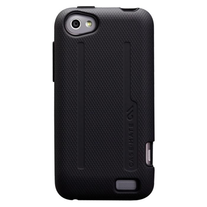 Case-Mate Tough для HTC One V, Black (CM020945)CM020945Чехол Case-Mate Tough для коммуникатора HTC One V изготовлен из прочного двухслойного материала: силикон и пластик. Обеспечивает надежную защиту Вашего устройства.