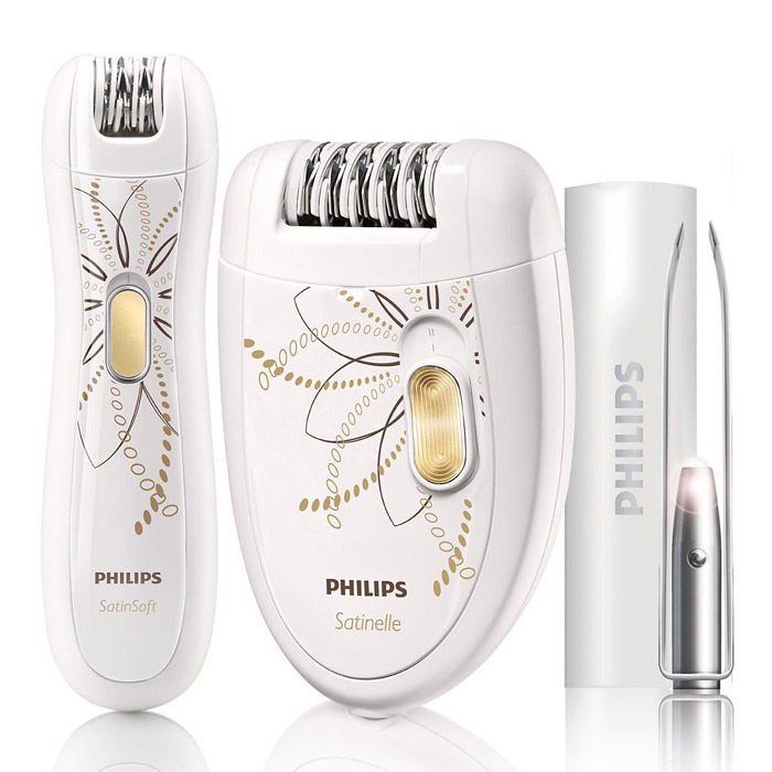 Philips HP6540/00 набор для эпиляцииHP6540/00Благодаря быстрому и эффективному эпилятору, прецизионному эпилятору для чувствительных участков тела и усовершенствованному пинцету для бровей вы всегда будете готовы к любой вечеринке.Эффективная система эпиляции:Благодаря эффективной системе эпиляции кожа остается гладкой и шелковистой в течение нескольких недель.Эргономичный дизайн:Благодаря закругленной форме ручка удобно лежит в руке, обеспечивая комфорт при удалении волос. А также великолепно выглядит!Два режима скорости:Дополнительный режим скорости для удаления тонких волосков на труднодоступных участках тела.Эпилирующую головку можно мыть:Просто и гигиенично: эпиляционную головку можно мыть под струей воды.Беспроводной прецизионный эпилятор:Идеально гладкая кожа в чувствительных местах. Элегантный прецизионный эпилятор идеально подходит для чувствительных участков тела и использования в дороге.Усовершенствованный пинцет:Пинцет в элегантном чехле со встроенной подсветкой и зеркалом идеально подходит для создания контура бровей.