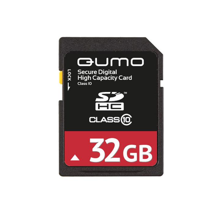QUMO SDHC Class 10 32GB карта памятиQM32GSDHC10Карта памяти QUMO SDHC/SDXC Class 10 предназначена для расширения памяти мобильных телефонов, цифровых фото и видеокамер, ноутбуков, карманных компьютеров и других портативных устройств, поддерживающих данный формат карт, и является одной из самых популярных. Практически неограниченный срок хранения записанных на карту материалов и большой срок безукоризненной работы идеально подходят для записи любых видов данных.Внимание: перед оформлением заказа убедитесь в поддержке вашим электронным устройством карт памяти данного объема.