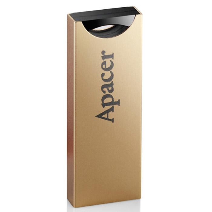 Apacer AH133 16GB, Gold USB флеш-накопительAP16GAH133C-1Новая компактная модель USB-накопителя Apacer AH133.Идеальное сочетание традиций и современности, технологии и эстетики. Круглое небо и плоская квадратная земля, появившиеся в древней восточной космологии и позже нашедшие отражение в философии и архитектуре, представляют суть пяти тысячелетий культуры Китая. Apacer воплощает эту восточную мудрость в новом флеш-накопителе AH133! В тонком металлическом корпусе используются квадраты и круги, дополненные характерными цветами восточных искусств: красным и золотым.