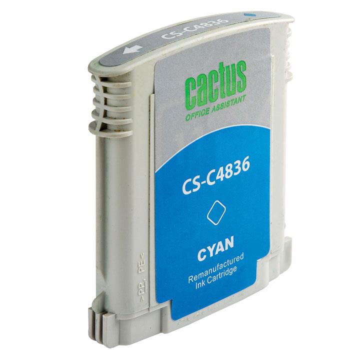 Cactus CS-C4836 №11 cyan для HPCS-C4836Картридж Cactus №11 для струйных принтеров HP.