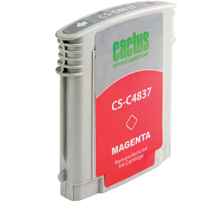 Cactus CS-C4837 №11 magenta для HPCS-C4837Картридж Cactus №11 для струйных принтеров HP.
