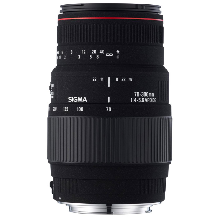 Sigma AF 70-300mm F4-5.6 APO MACRO DG, Canon