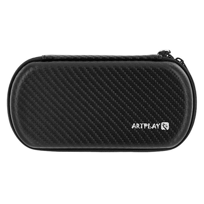 Защитная сумка ARTPLAYS EVA Pouch Carbon для PSP E1008 Street/3000 (цвет: черный)BH-DSL09211Надежная, компактная и вместительная защитная сумка для PSP E1008 Street/3000.Отлично сшита, швы занимают минимум местаИмеет отделения для PSP, UMD-дисков и других аксессуаров
