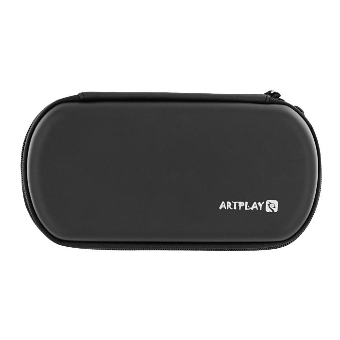 Чехол Artplays EVA Pouch для PSP E1008 Street/3000 (черный)PSP2000-Y028Чехол Artplays EVA Pouch, выполненный из высококачественного материала ЭВА, надежно защитит вашу приставку от повреждений. Имеет отсеки не только для самой консоли, но и для всех необходимых аксессуаров - карт памяти с играми и мультимедиа, USB-кабеля и прочего.