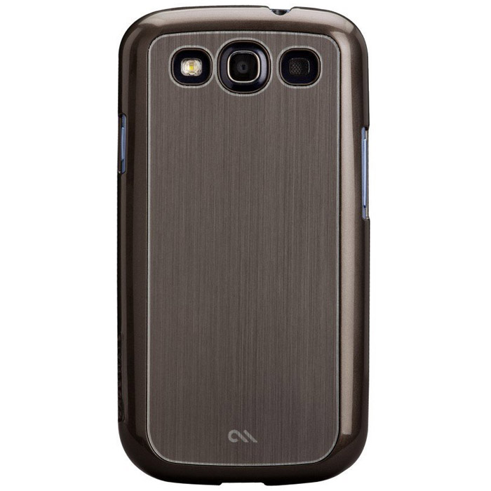 Case-Mate Barely There Aluminium для Samsung Galaxy SIII, Silver (CM021200)