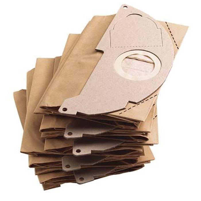 Бумажные фильтр-мешки Karcher 5 шт. 6.904-322.06.904-322.0Пылесборники Karcher для пылесосов A20, WD2.200.