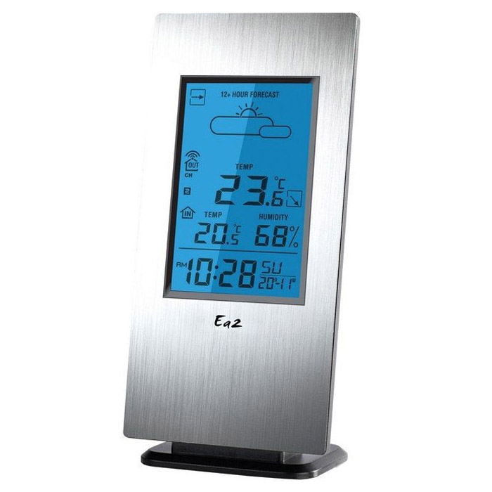 Ea2 AL803 термометрAL803Метеостанция Ea2 AL803 с беспроводным внешним датчиком и функцией прогноза погоды.Прогноз погодыСохранение температурных значенийКалендарьВыносной датчик: беспроводной, радиус приема 30 мМаксимальное число датчиков: 3Индикация уровня зарядаНастенное креплениеЗвуковая индикацияПитание: 3 х ААА (основной блок), 2 х ААА (датчик)Можно использовать дополнительные датчики Ea2 BL999