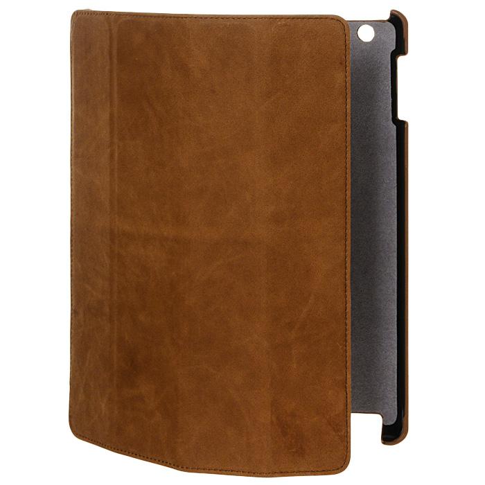 Melkco Slim Cover для new iPad, Brownapnipalcsc1bncvЛегкий и удобный чехол Melkco Slim Coverдля iPad 3. Обеспечивает надежную защиту Вашего планшетного компьютера от ударов, царапин, пыли и грязи.