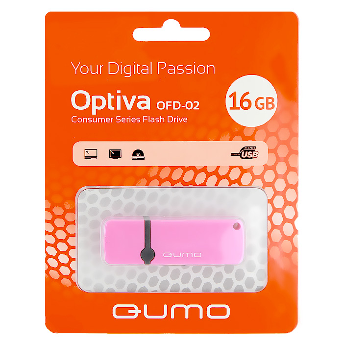 QUMO Optiva 02 16GB, Pink подушка dream time dream time mp002xu0dw1w