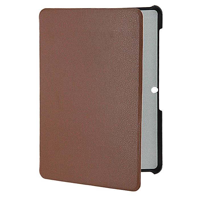 IT Baggage Hard Case чехол для Samsung Galaxy Tab 2 10 P5100/P5110, BrownITSSGT1026-2Чехол IT Baggage Hard Casee для Samsung Galaxy Tab 2 10 P5100/P5110 - это стильный и надежный аксессуар, позволяющий сохранить планшет в идеальном состоянии. Надежно удерживая технику, обложка защищает корпус и дисплей от появления царапин, налипания пыли. Также чехол IT Baggage можно использовать как подставку для чтения или просмотра фильмов. Имеет свободный доступ ко всем разъемам устройства.
