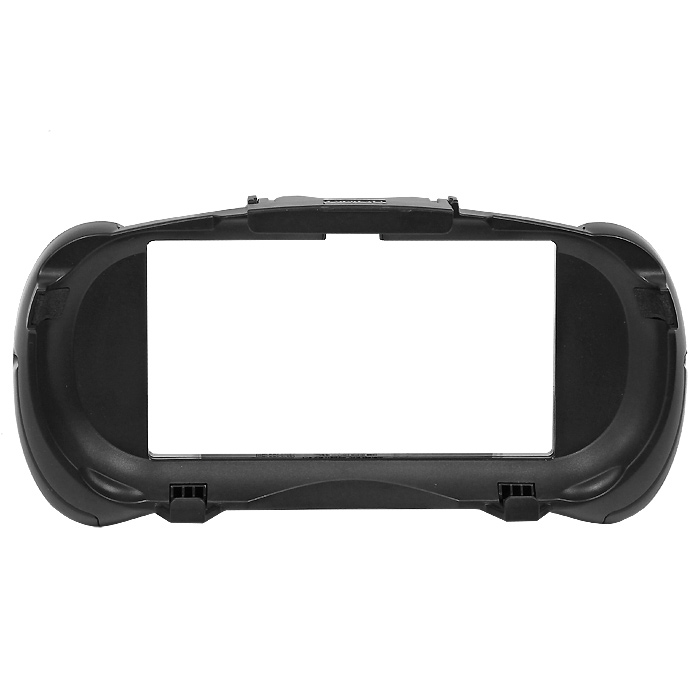 PS Vita: Cъемные рукояткиPSV-078ECъемные рукоятки для PlayStation Vita.Рукоятки можно сдвинуть вниз, что позволяет держать систему во время игры как геймпадПосле установки аксессуара доступны все разъемы и кнопки