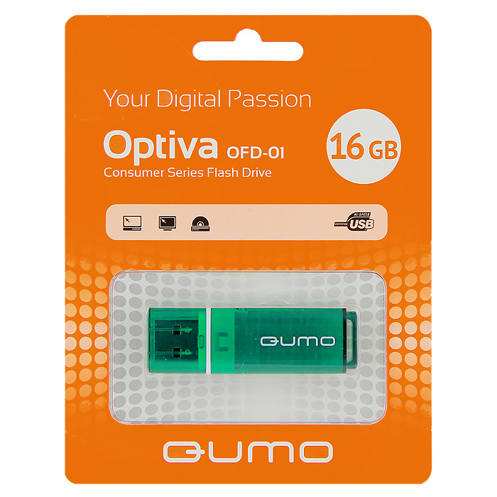 QUMO Optiva 01 16GB, Green