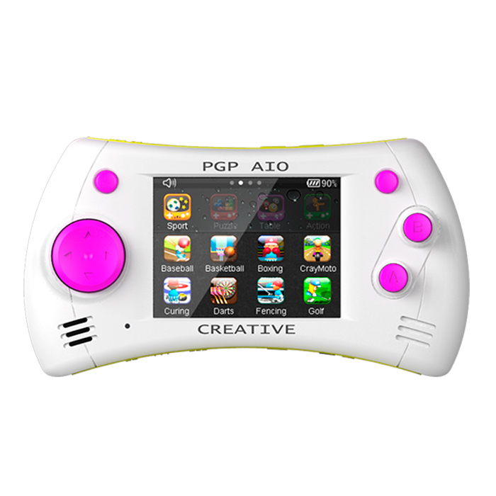 Портативная игровая приставка PGP AIO Creative (белая) - Игровые консоли