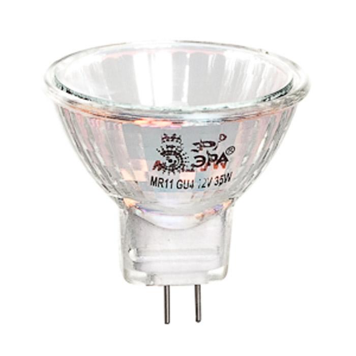ЭРА MR11-35-12-GU4-30C0027362Низковольтные галогенные лампы с отражателем ЭРА MR11-35-12-GU4-30 обеспечивают направленный световой поток под определенным углом для акцентного освещения.Галогенные лампы - это следующая, после ламп накаливания, ступень эволюции светотехники. Благодаря добавлению паров галогенов (йода или брома) в инертный газ, удается избежать оседания частиц вольфрама на колбе лампы, а это в свою очередь делает лампу гораздо ярче и увеличивает срок ее службы на 20-30% за счет большей сохранности нити накаливания.Галогенные лампы широко используются в тех светильниках, где применение обычных ламп невозможно из-за особенностей конструкции, например, в дизайнерских люстрах, бра и торшерах, в точечной подсветке, в ограниченном пространстве (освещение холодильников, багажников и бардачков автомобилей) и т.д. Разнообразие форм, размеров и способов крепления галогенных ламп позволяет подобрать любую комбинацию для самых неординарных решений по освещению интерьера.