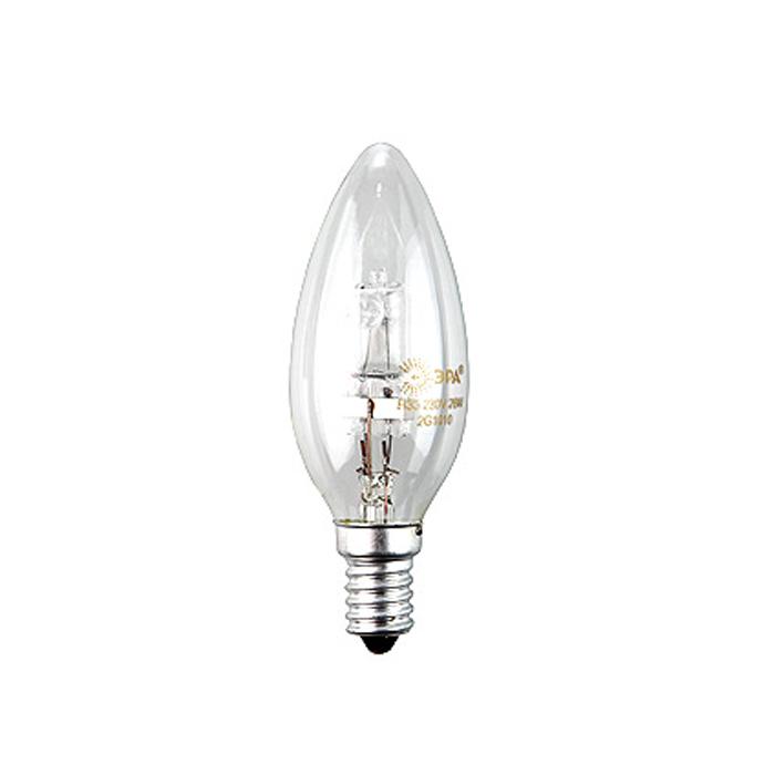ЭРА Hal-B35-28W-230V-E14-CLC0038550ЭРА Hal-B35-28W-230V-E14-CL относится к линейке галогенных ламп, выполненных в колбах, повторяющих стандартные лампы накаливания, но при этом по энергосберегающей технологии. Это отличная альтернатива привычным лампам накаливания, благодаря меньшему потреблению электроэнергии и гораздо большему сроку службы.